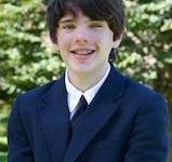 Nick S., 8th-grade student and newspaper staff writer at Rectory School