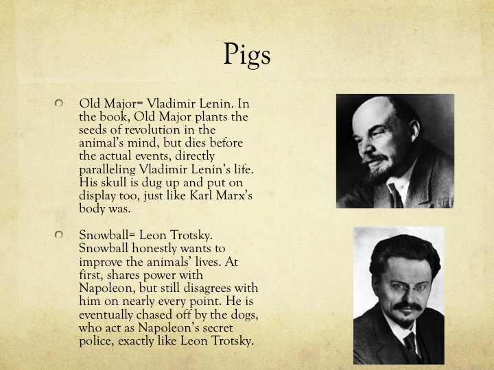 the symbolism of the russian revolution in the movie animal farm Background & historical information- animal farm  by george orwell key vocabulary: allegory satire  the russian revolution was supposed to fix problems from.