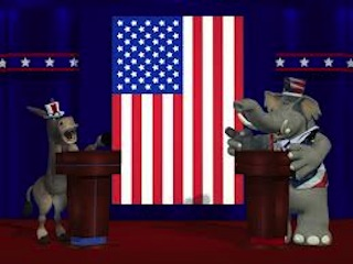 Debating plays a major role in American politics and elections.