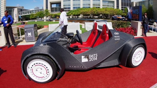 The world's first 3D printer car – the Strati. (gizmag.com)
