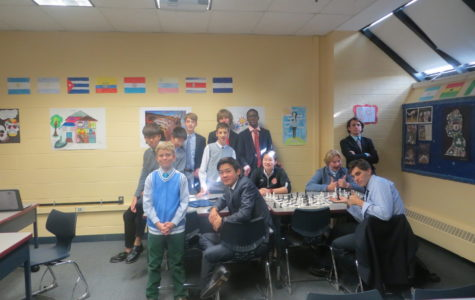 Rectory's Chess Elective and State-Champion Player