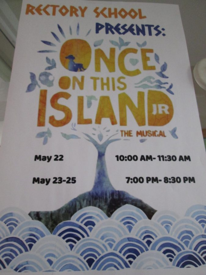 """Rectory's Spring Musical, """"Once on This Island, Jr."""""""