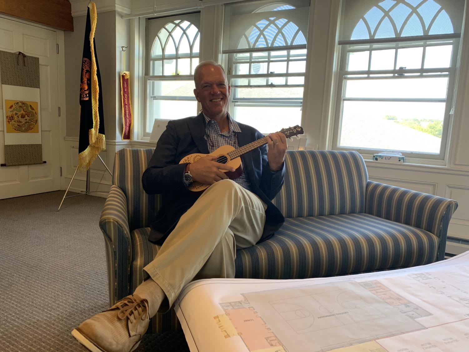 Mr. Williams is finally learning to play a musical instrument, a lifelong goal of his.