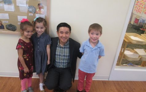 Mr. Li, A New Teacher in Rectory's Elementary School