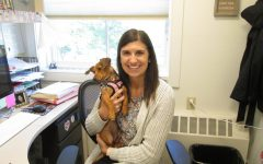 Rectory Tutor and Her Canine Companion Bring Joy to the Learning Center