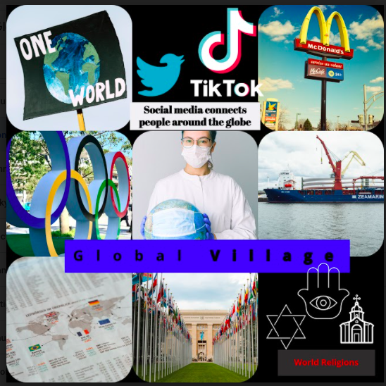 """Grade 6 """"World Community Collages"""""""